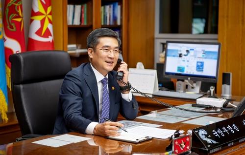 韩美防长通电话同意加强同盟关系