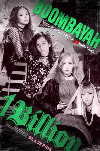 BLACKPINK《BOOMBAYAH》MV播放量破10亿