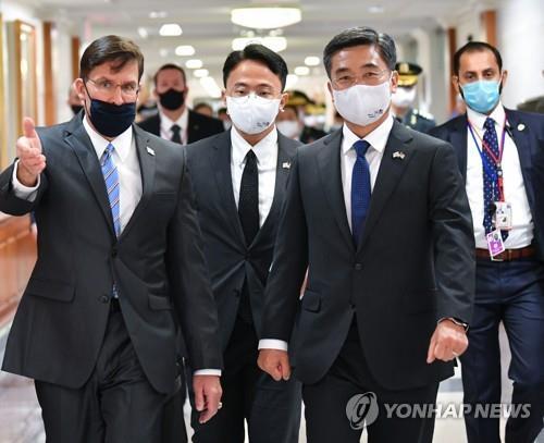 韩国防部:韩美防长记者会被取消非因分歧