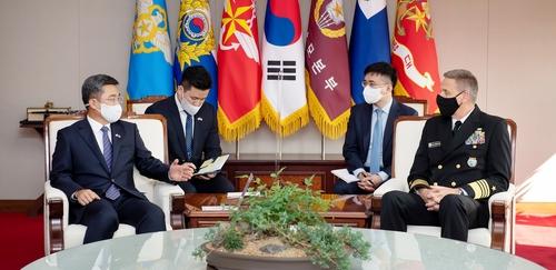 韩防长会见美印太司令谈同盟合作