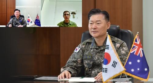 韩联参议长同澳国防军司令举行视频会谈