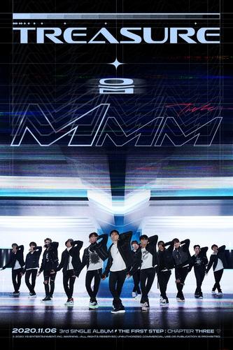 男团TREASURE将于下月发布第三张单曲辑