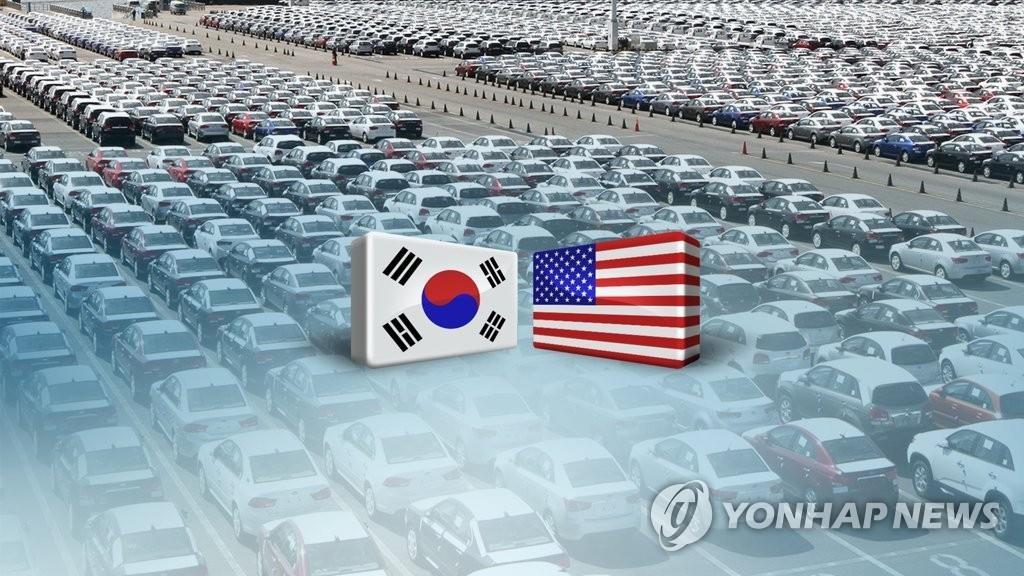 统计:美国大选次年韩国对美出口同比减4.2%