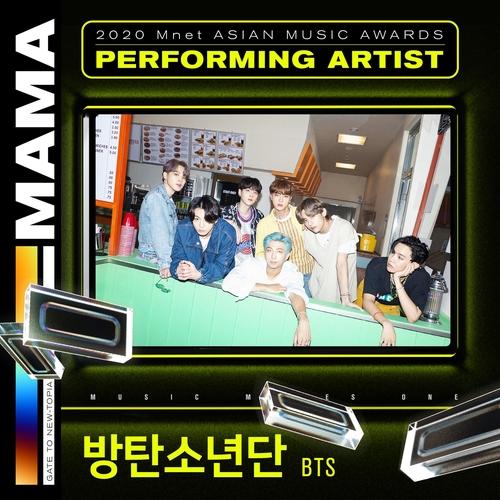 防弹将参加Mnet亚洲音乐大奖颁奖礼