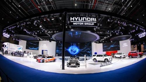 现代汽车参加中国进博会加快布局绿色汽车市场