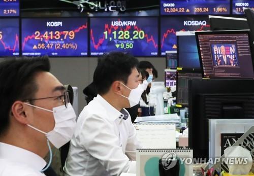统计:韩国上市公司第三季营业利润同比增27%
