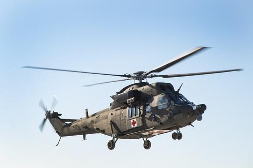 韩军8架国产医疗救援直升机投用