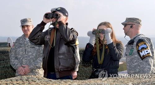 韩军:韩美将在美新政府下继续保持协防力量