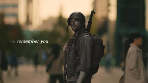 韩国在22个韩战参战国投放感恩视频