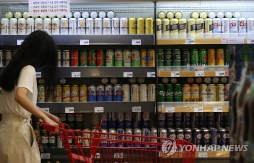 统计:韩酒类进口量十年首降 去年同比减6%