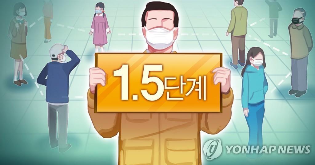 详讯:韩首都圈防疫响应级别19日起升至1.5级