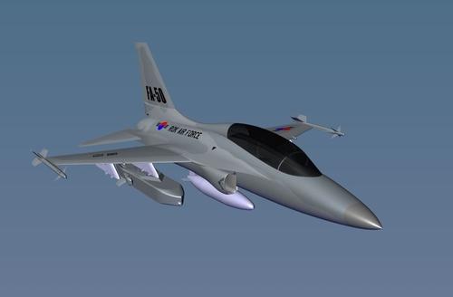 FA-50搭载金牛座350K-2的模拟图 金牛座系统公司供图(图片严禁转载复制)