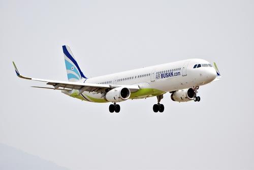 资料图片:釜山航空客机 釜山航空供图(图片严禁转载复制)