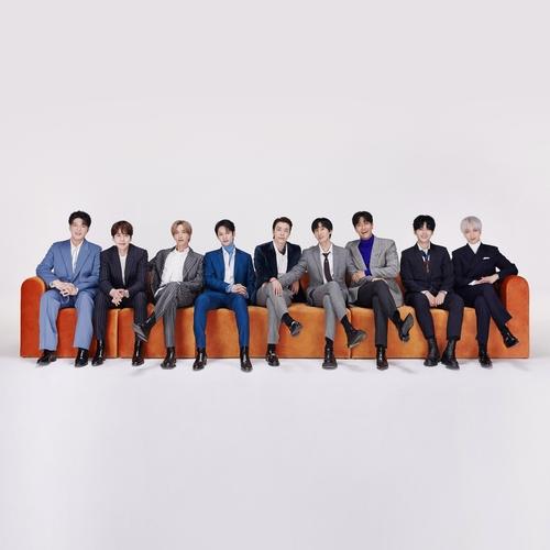 资料图片:Super Junior 韩联社/经纪公司Label SJ供图(图片严禁转载复制)