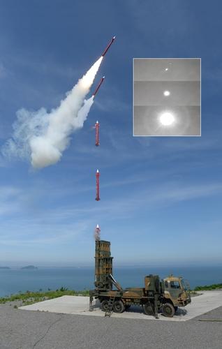 """韩自主研发弹道导弹拦截系统""""天弓2""""入队"""