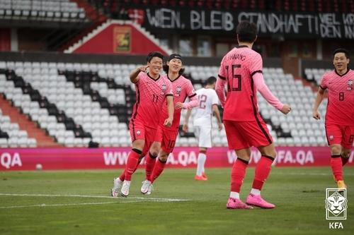 韩国国足最新FIFA排名维持第38位