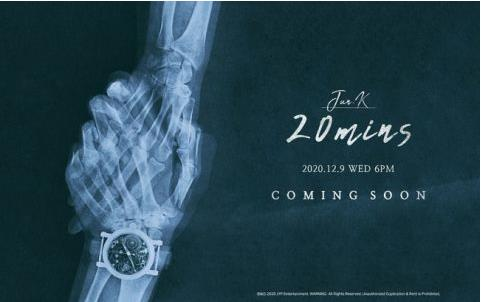《20Mins》预告照 JYP娱乐供图(图片严禁转载复制)