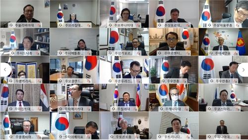 韩国驻外外交代表展望美大选后国际形势