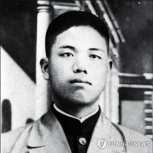 资料图片:赵明河义士 韩联社