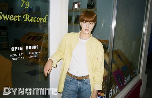 防弹少年团Jin推个人单曲《Abyss》