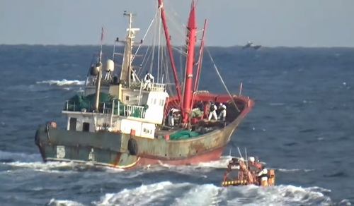 疫情下韩西部海域被扣押中国渔船骤减