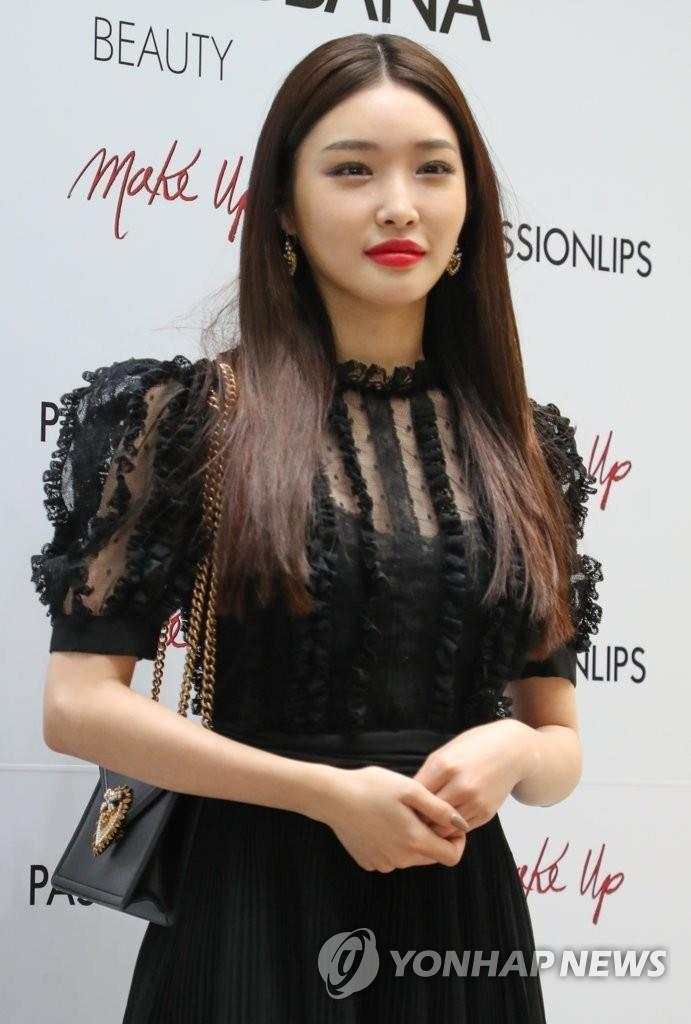 资料图片:歌手请夏 韩联社