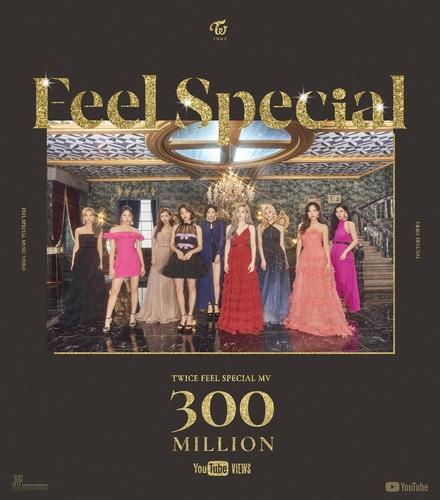 TWICE《Feel Special》MV优兔播放量破3亿 韩联社/JYP娱乐供图(图片严禁转载复制)
