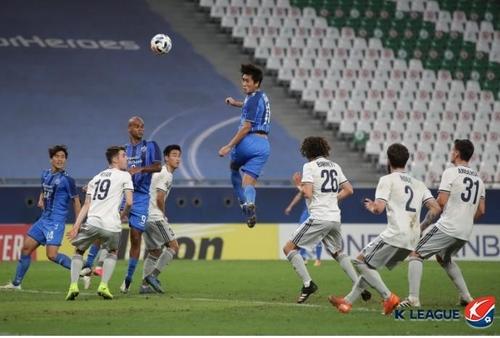 2020亚冠联赛八强蔚山现代明对阵北京国安