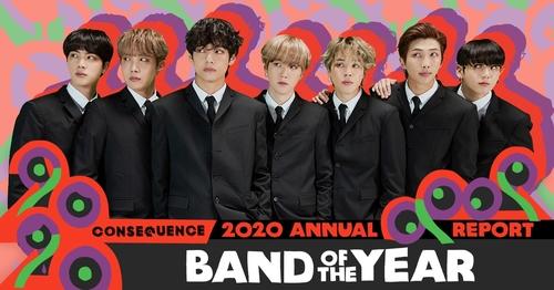 防弹少年团获选美媒年度最佳乐队