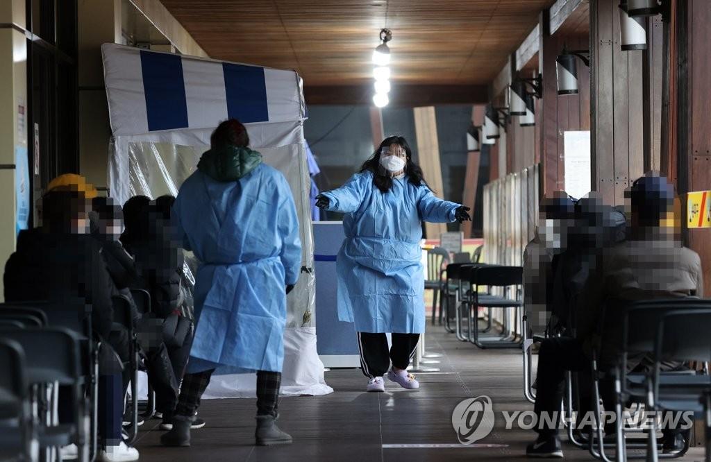 简讯:韩国新增689例新冠确诊病例 累计40786例