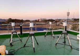 资料图片:忠清地区大气环境研究所 环境部供图(图片严禁转载复制)