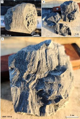 锥型岩石构造 韩国地质资源研究院供图(图片严禁转载复制)