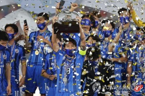 蔚山现代2-1胜伊朗波斯波利斯问鼎亚冠