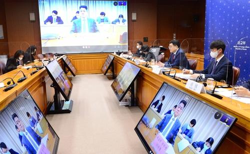 韩中副外长举行视频会谈