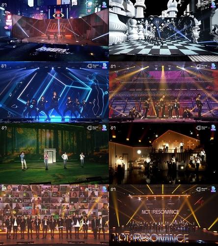 NCT线上演唱会吸引20万人同步观看