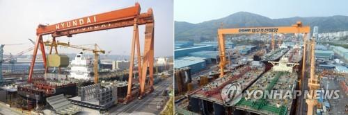 中国无条件批准韩国两大造船巨头合并