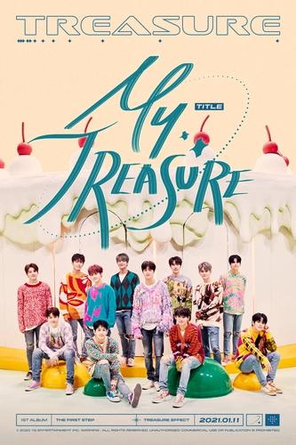 TREASURE本月将首发正式专辑