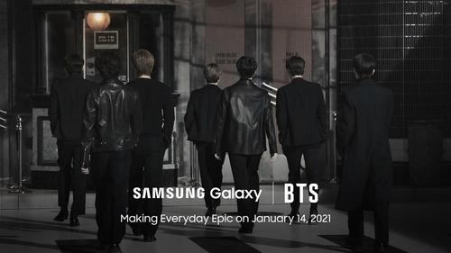 防弹少年团将亮相Galaxy S21发布会