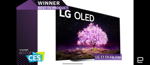 LG电子获CES最佳电视和手机奖