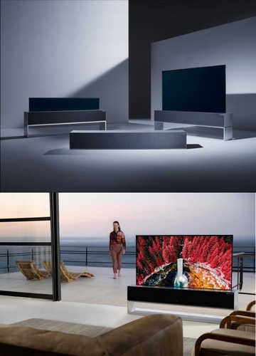 LG Signature OLED TV R LG电子美国法人供图(图片严禁转载复制)