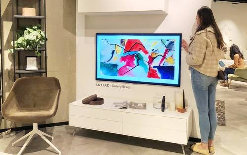 LG电子在香港家具卖场推广GX Gallery电视