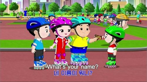 朝鲜兴起早教英语 动画片寓教于乐