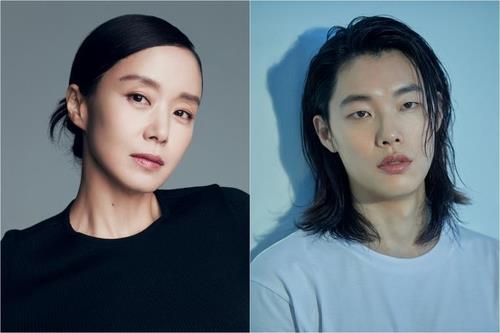 资料图片:全度妍(左)和柳俊烈 经纪公司SOOP和C-JeS娱乐供图(图片严禁转载复制)