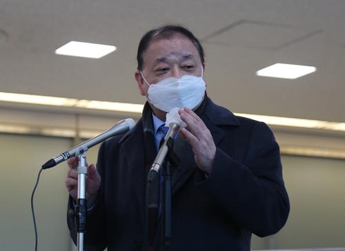 资料图片:韩国新任驻日本大使姜昌一 韩联社
