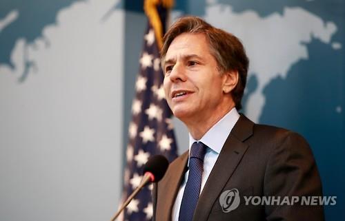 韩政府欢迎布林肯就任美国国务卿