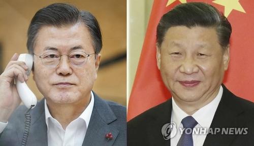 简讯:习近平表示支持韩方努力实现无核化