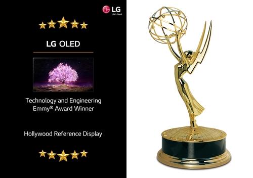 LG电子OLED电视荣获科技与工程艾美奖