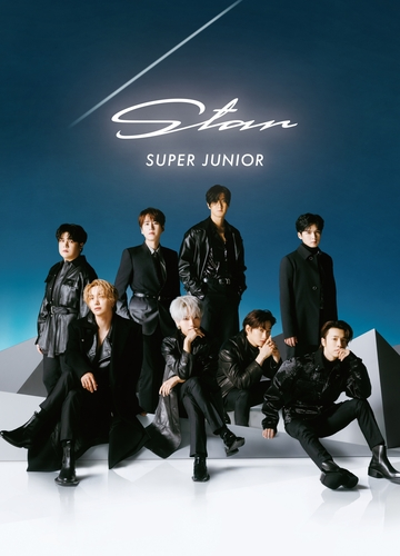Super Junior在日本发售正规专辑《Star》。 韩联社/经纪公司Label SJ供图(图片严禁转载复制)