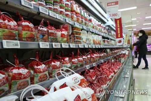 2020年韩国泡菜出口同比约增38%创新高