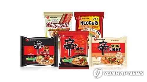 韩国方便面去年出口破6亿美元创新高